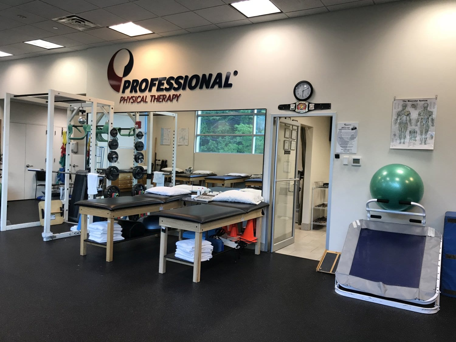 This is an image of exercise equipment at our physical therapy clinic in Great Neck, New York.