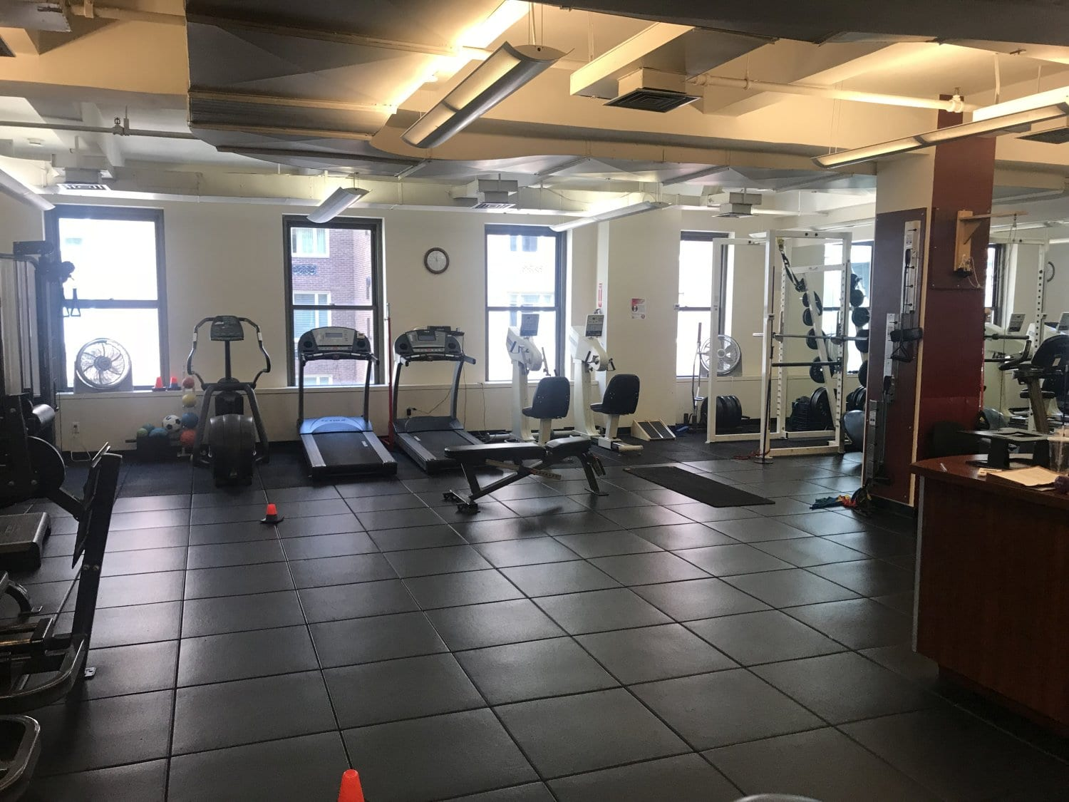 Here is an image of our training room in our physical therapy clinic in Manhattan, New York City at Midtown East.