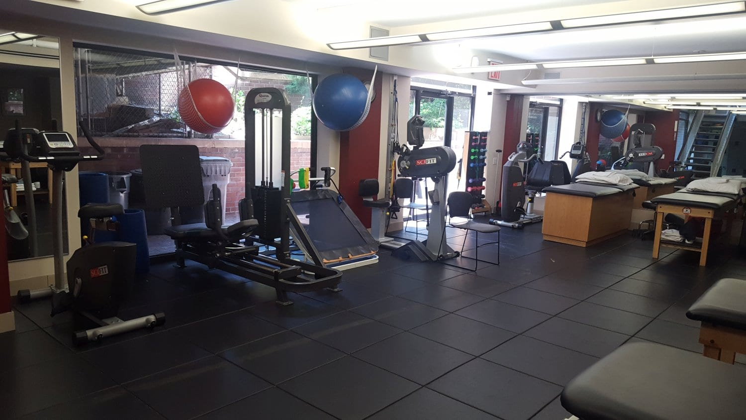 Here is the interior of our physical therapy clinic on 71st street at our Manhattan, New York City location located in the upper west side