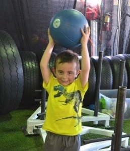 Back in the Game - Medicine Ball