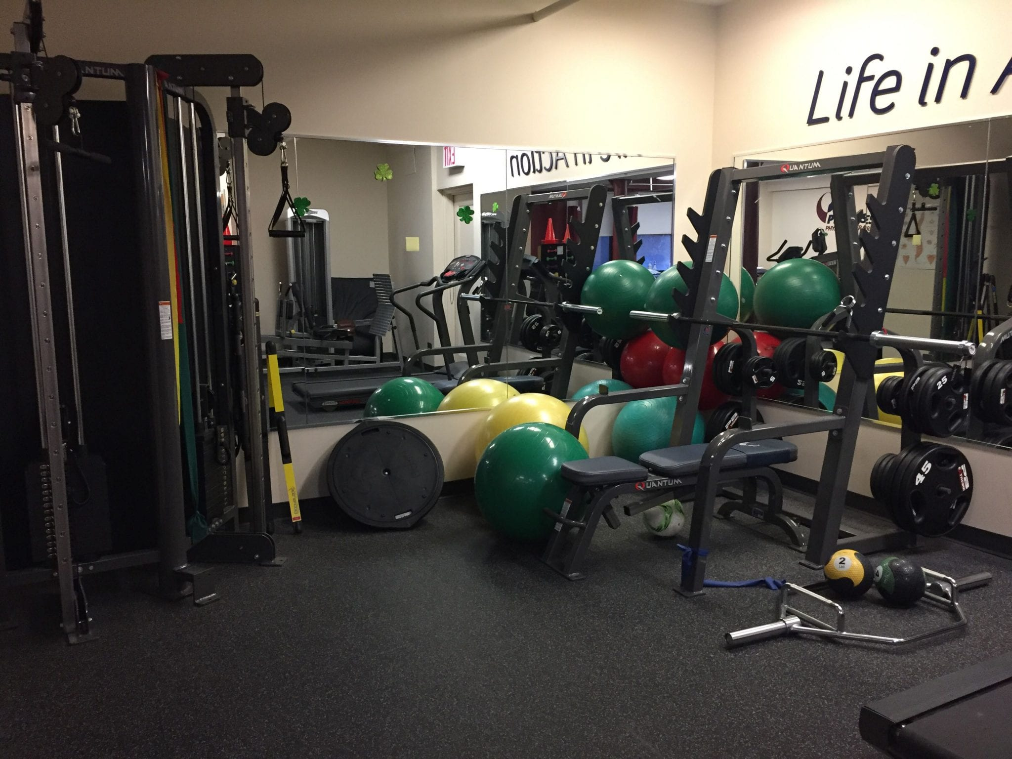 An image of equipment used for physical therapy at our clinic in Manhattan at Upper East Side on 87th st.