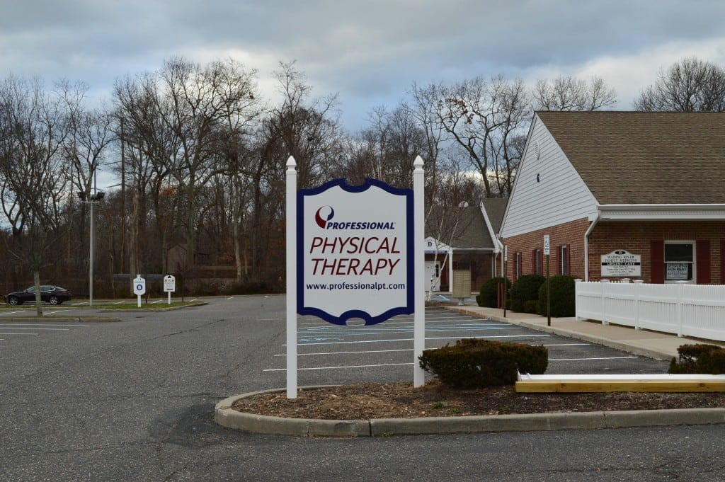 Here is an image of the sidn at our clinic in Wading River, New Jersey. The sign reads