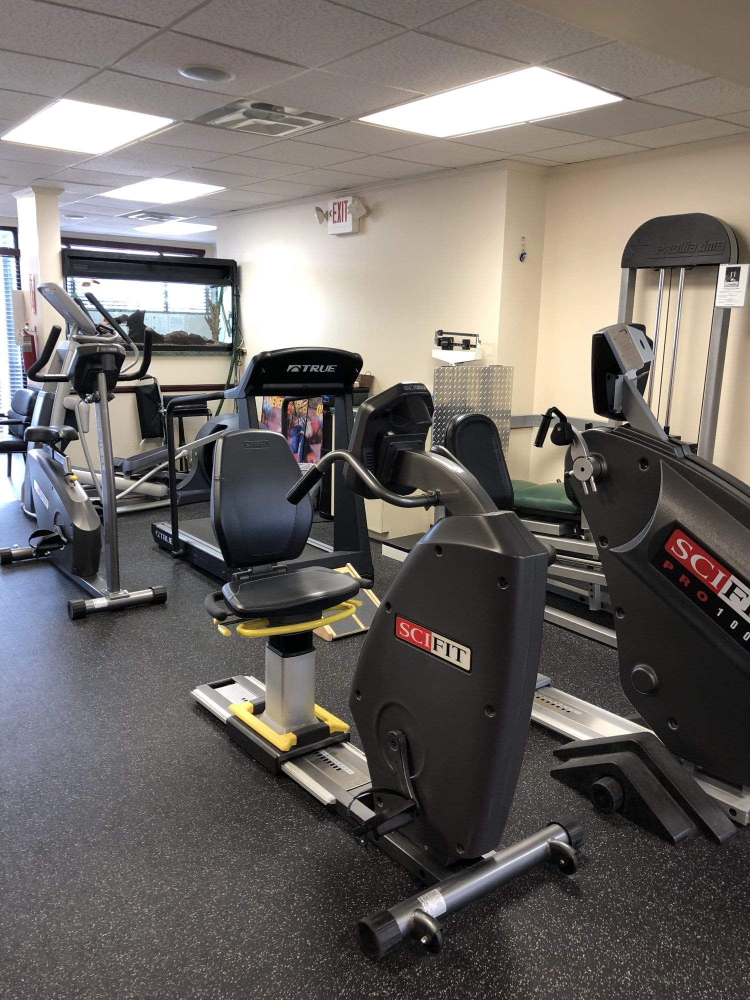 This is an image of bike equipment used at our physical therapy clinic in Williston Park in Long Island in Nassau County NY.