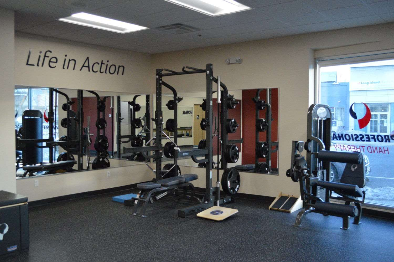 This is a photo of physical therapy equipment used in our clinic in Rockville Centre, New York.