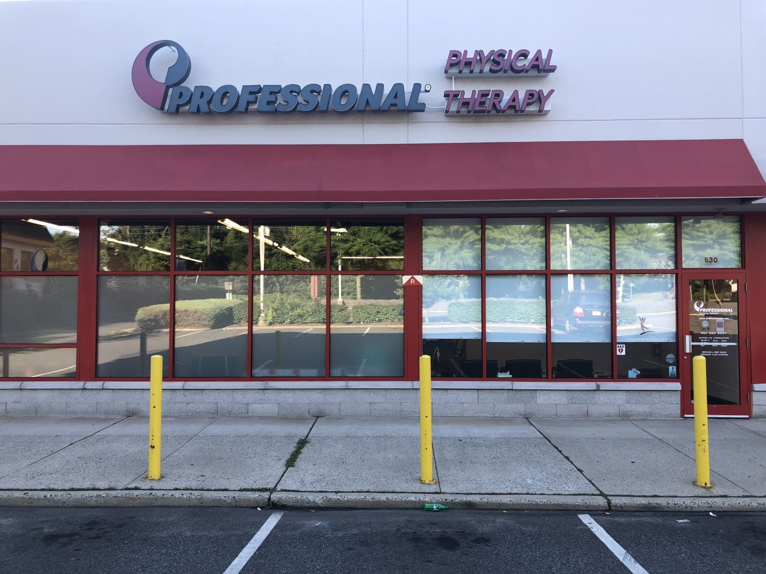 This is an image of the exterior of our physical therapy clinic in River Edge, New Jersey.