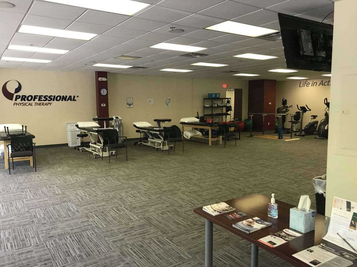 Here is an image of the equipment used at our physical therapy clinic in Ridgefield, Connecticut.