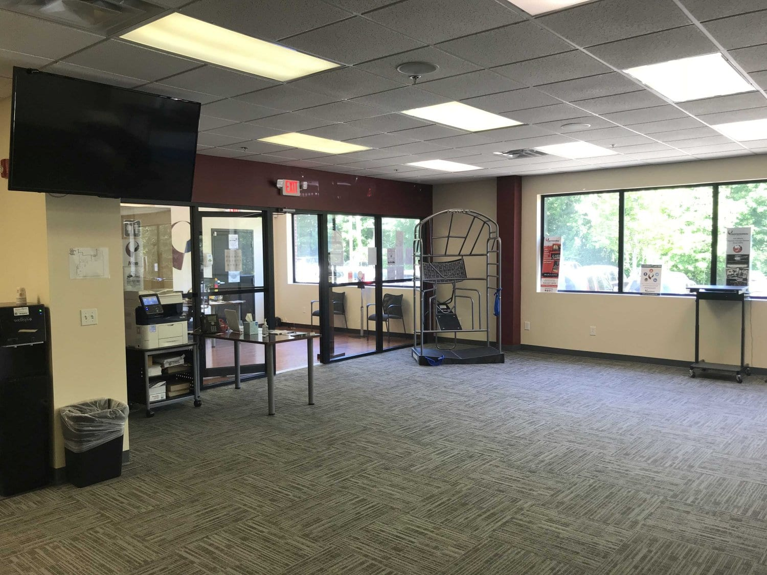 Here is an image of the interior of our Ridgefield, Connecticut physical therapy clinic.