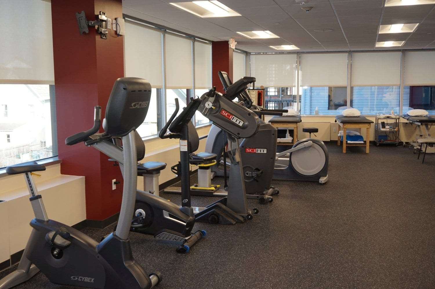 Here is a photo of equipment used at our physical therapy clinic in Stamford, Connecticut.
