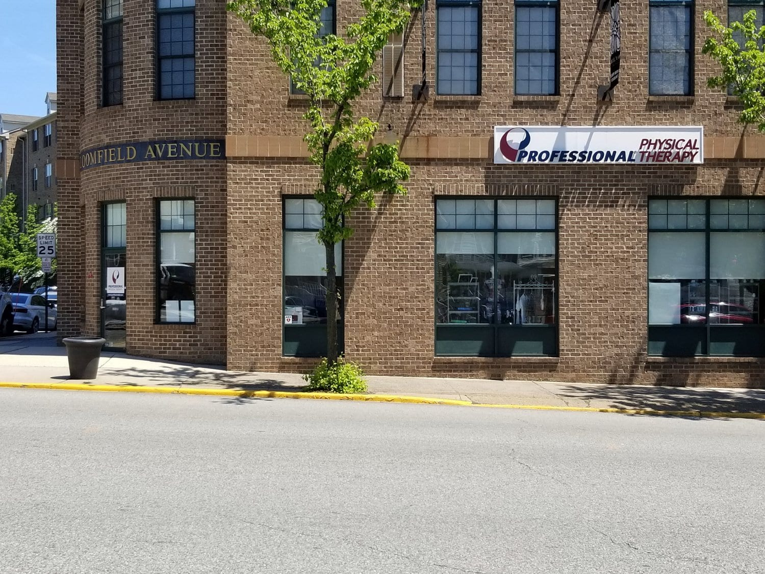 This is a photo of the exterior of our physical therapy clinic in Montclair, New Jersey at Bloomfield.