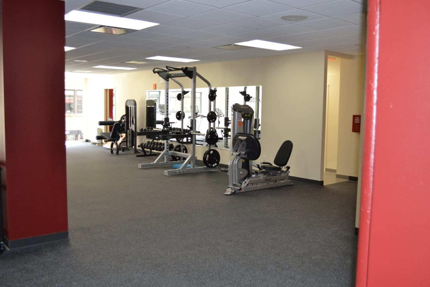 Here is a photo of strength training machines at our physical therapy clinic in Gramercy, New York City. The facility is in lower Manhattan.