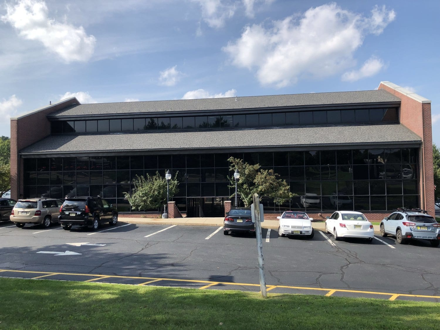 A photo of the building our physical therapy clinic is in. The building is located in Randolph, New Jersey.
