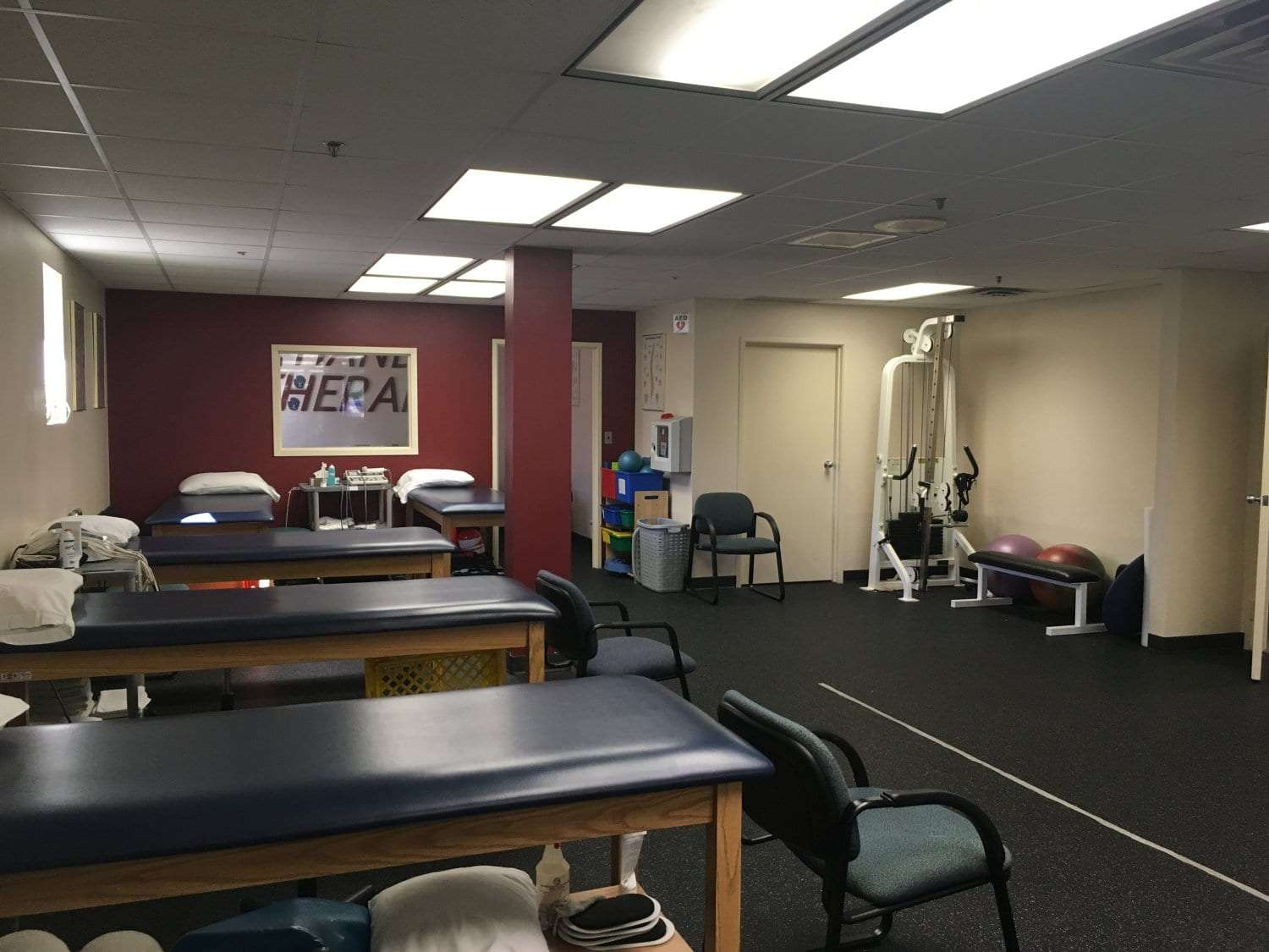 Here is an image of the interior of our physical therapy clinic in Waldwick, New Jersey.