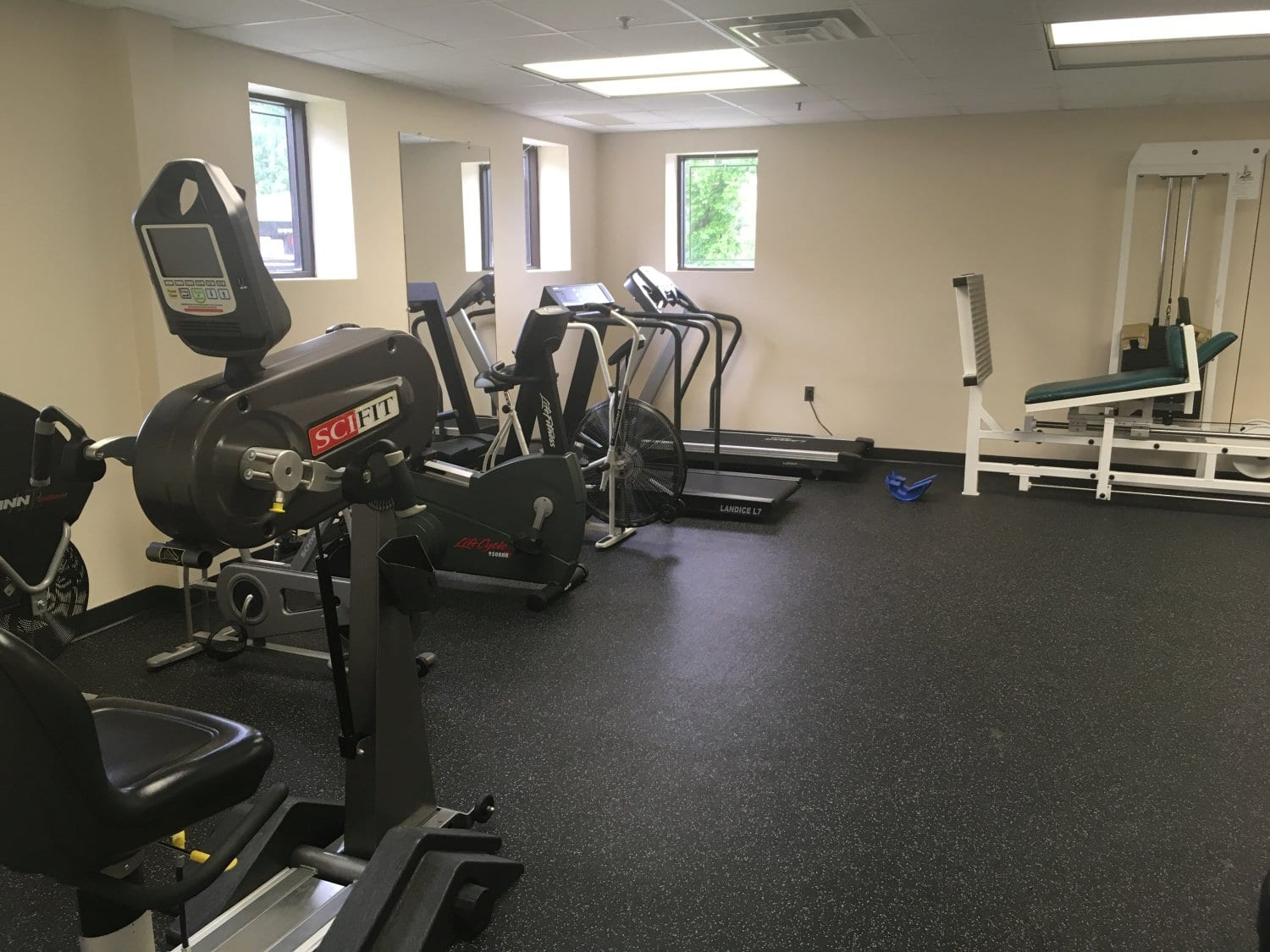Here is an interior photo of our Waldwick, New Jersey physical therapy clinic.