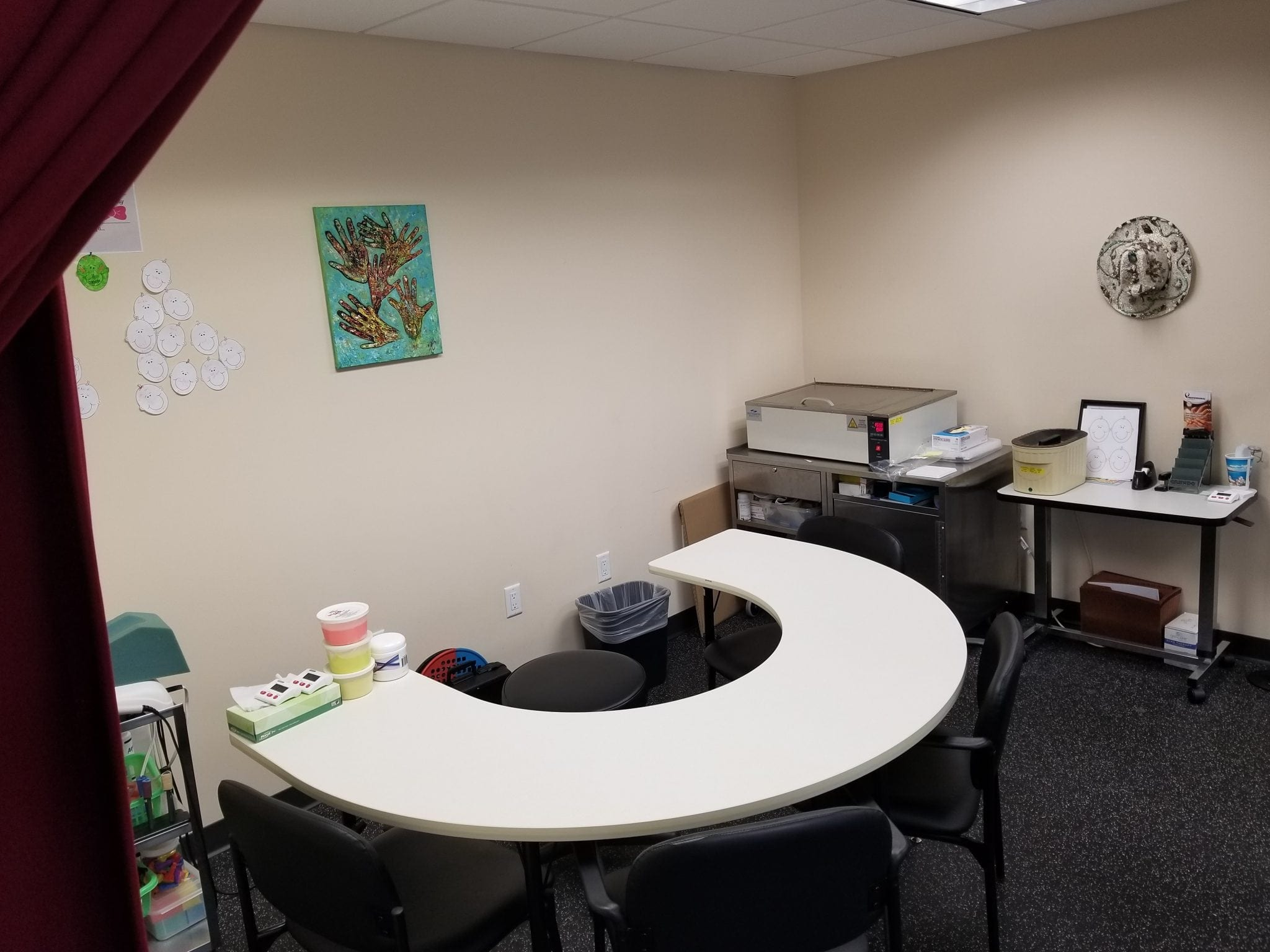 Here is an image of a table at our physical therapy clinic in East Englewood, New Jersey.