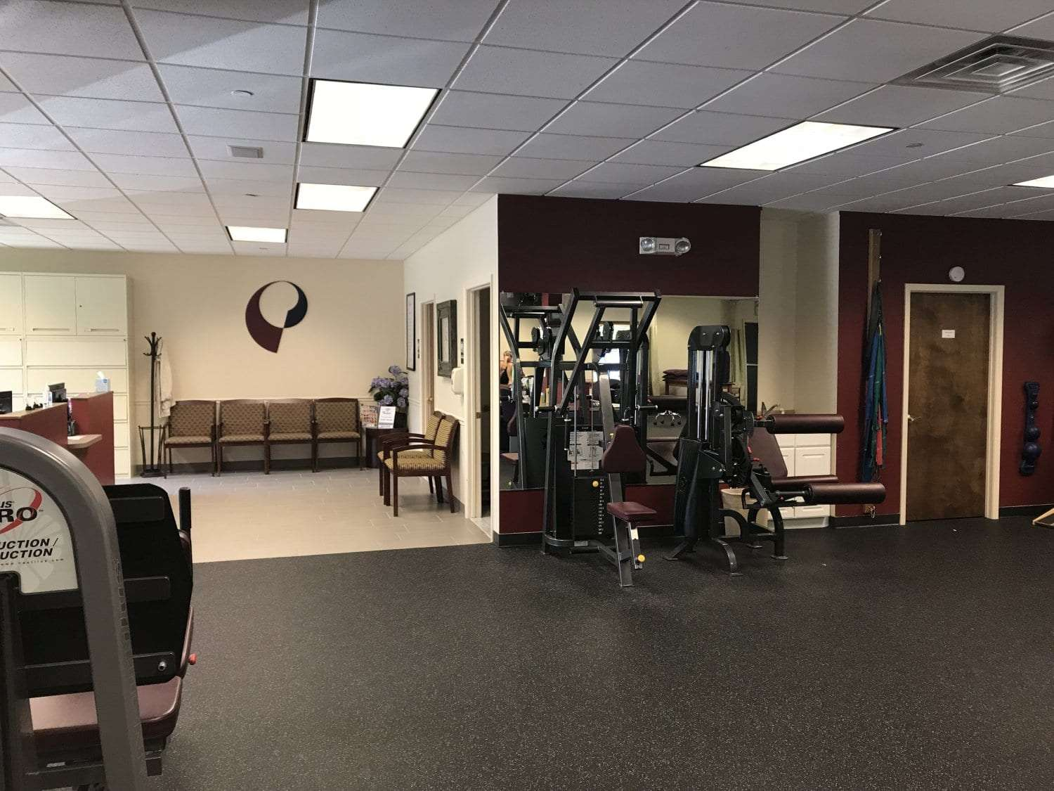 Here is a photo of the interior of our physical therapy clinic in East Hanover, New Jersey.