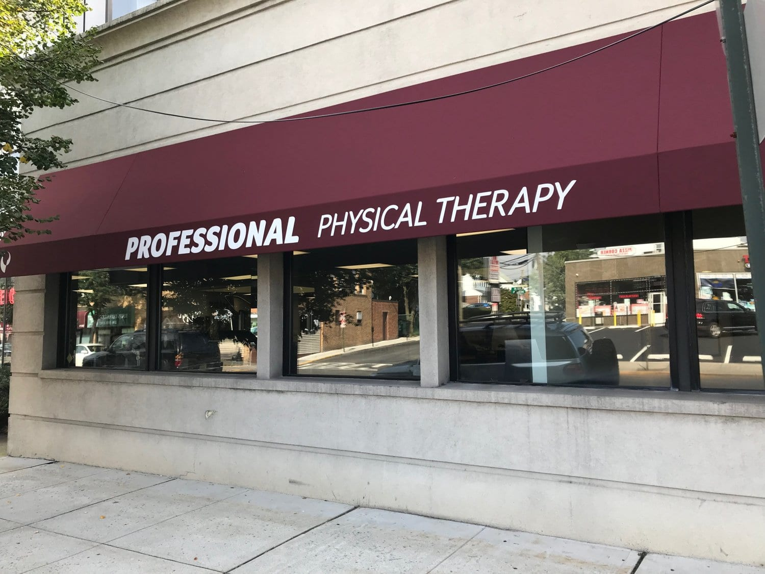 An image of the exterior of our physical therapy clinic in Cliffside Park, New Jersey.