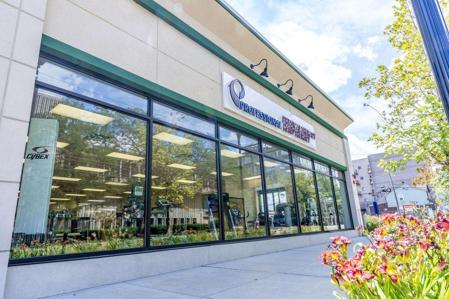 Exterior of our physical therapy clinic in Hackensack, NJ.