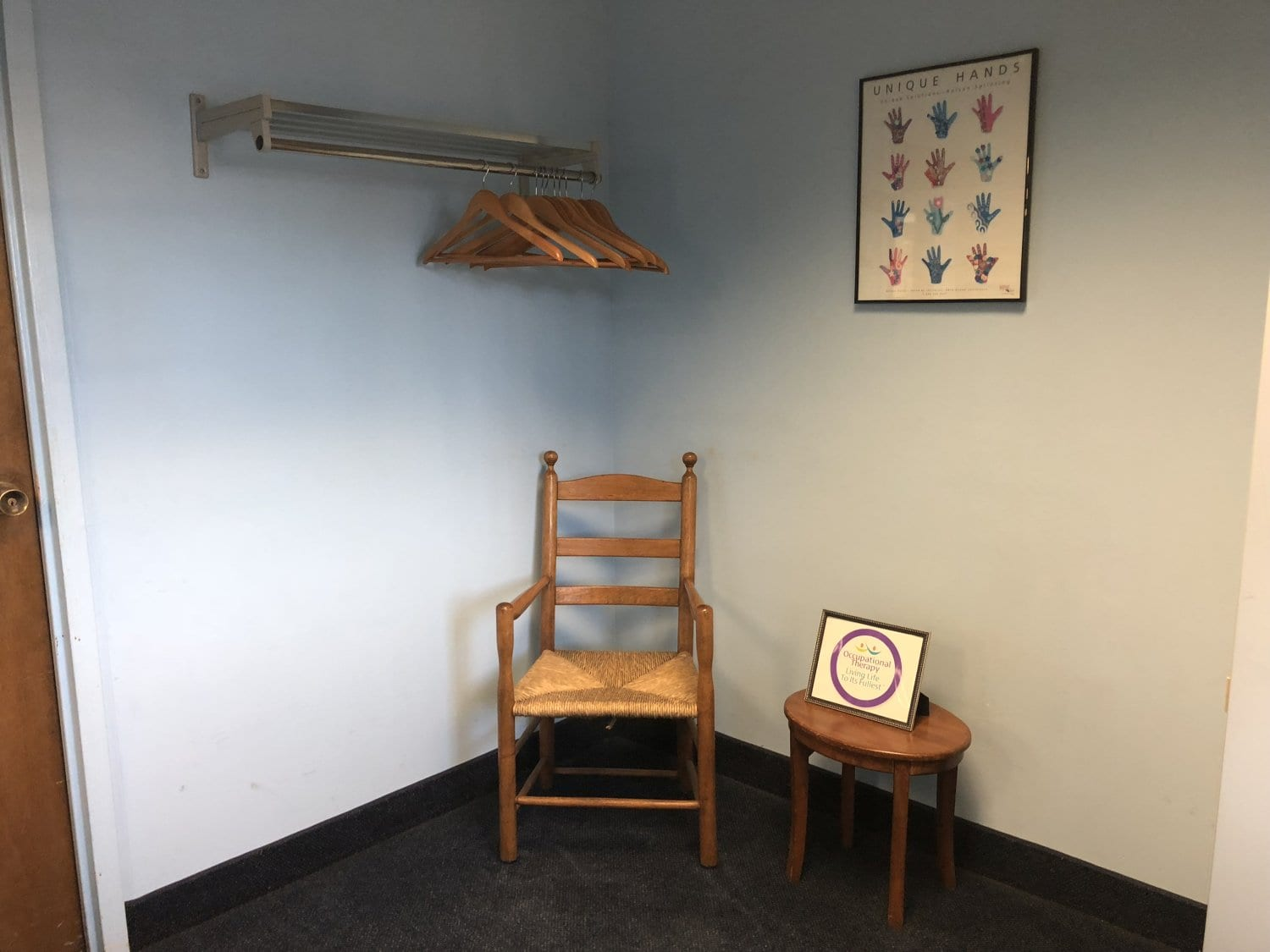 This is a shot of a part of our waiting area at our physical therapy clinic in Union, New Jersey.