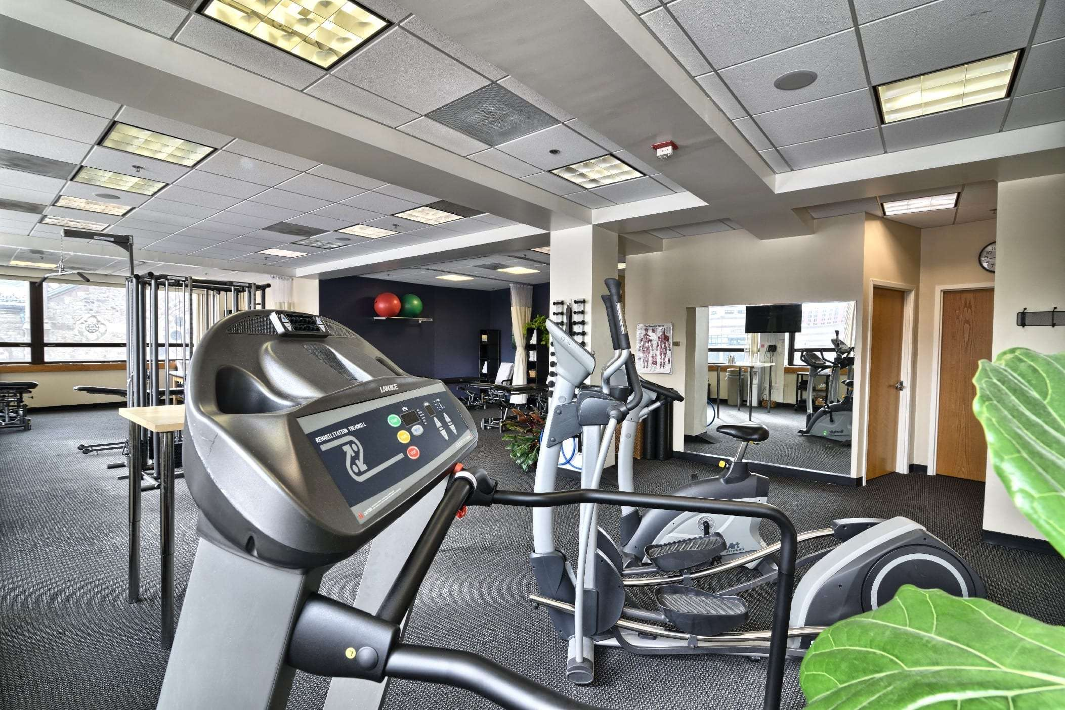 Here is a photo of the inside of our physical therapy clinic in Boston, Massachusetts.