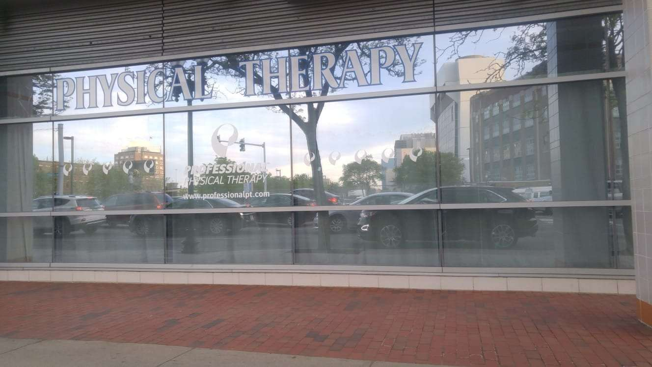 An image of the front of our physical therapy clinic in Boston, Massachusetts.