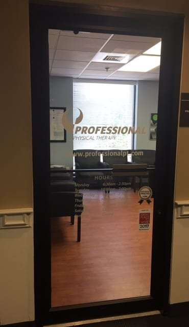 Entrance to our Braintree, MA physical therapy clinic.
