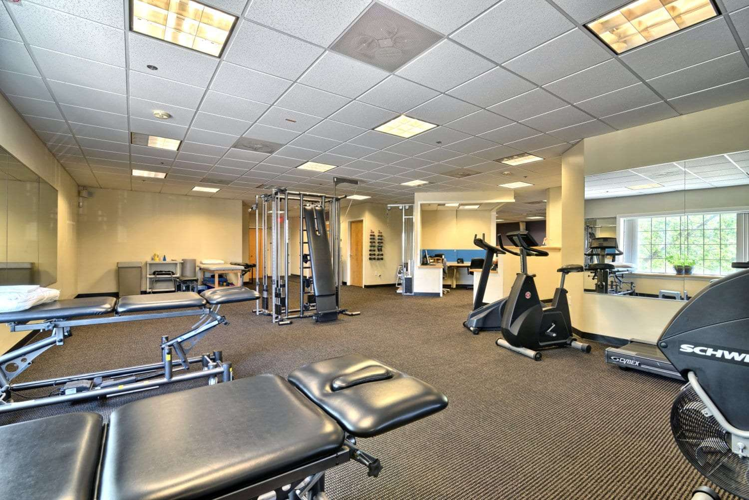 An image of various equipment used for physical therapy at our clinic in Salem, Massachusetts.