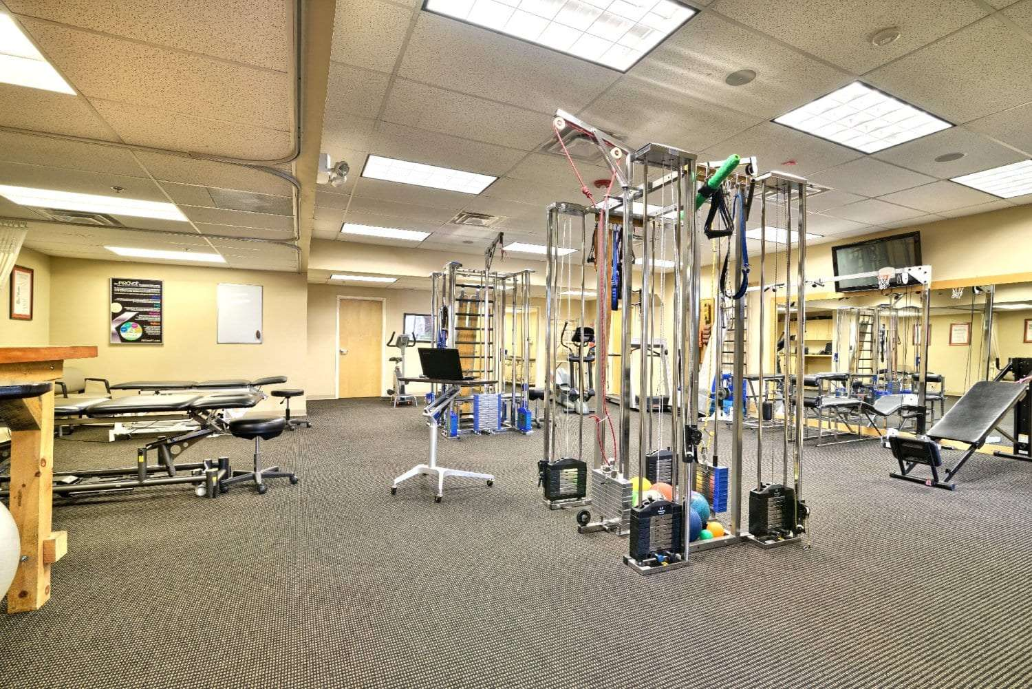 Here is an image of equipment in our clean facility at our physical therapy clinic in Springfield, Massachusetts.