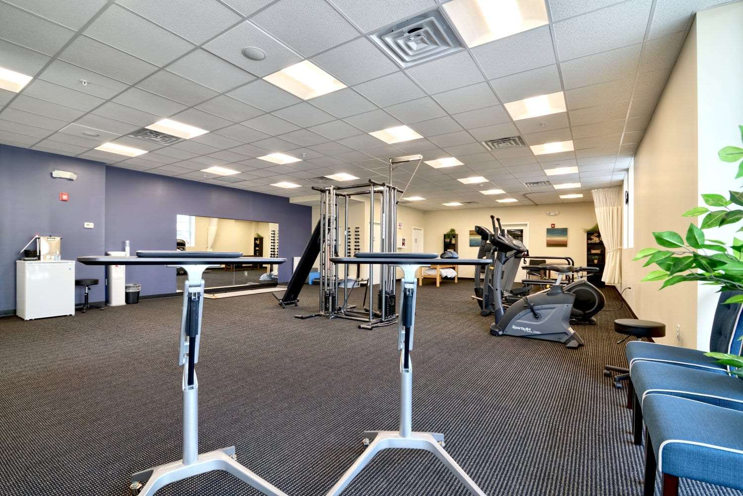 An image showcasing the equipment at our physical therapy clinic in Waltham, Massachusetts.