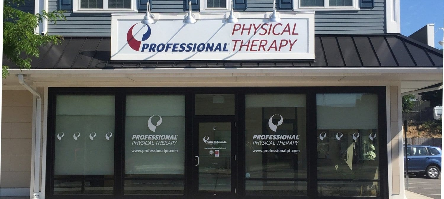 Here is the exterior photo of our Waltham, Massachusetts physical therapy clinic.