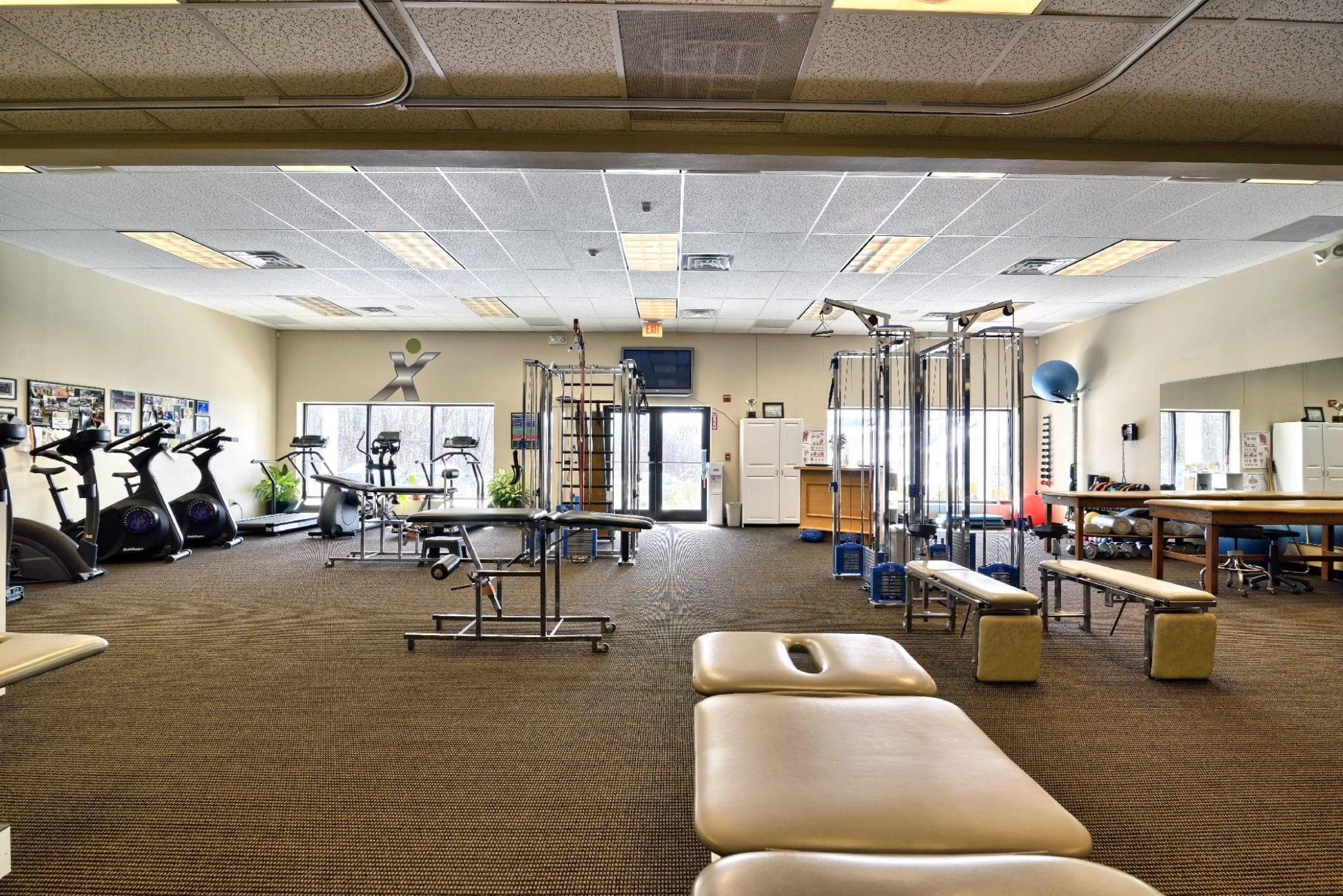 This is an image of some of the equipment that is used at our physical therapy clinic in Stratham, New Hampshire.
