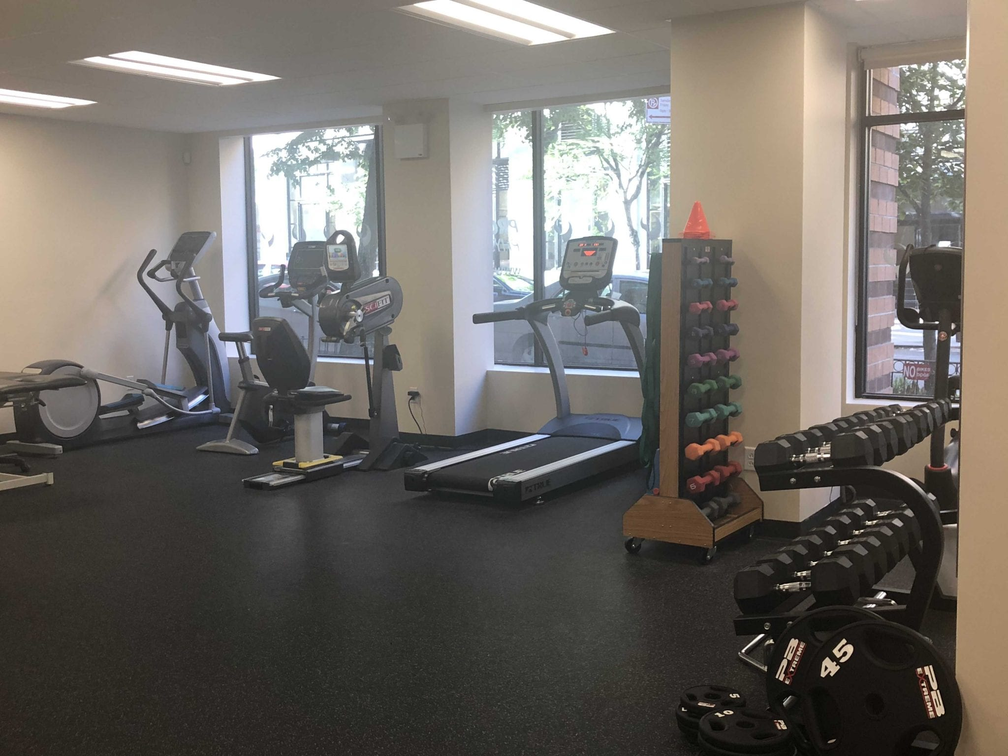 An image of equipment used for physical therapy at our clinic in lower Manhattan, New York City, at East Village.