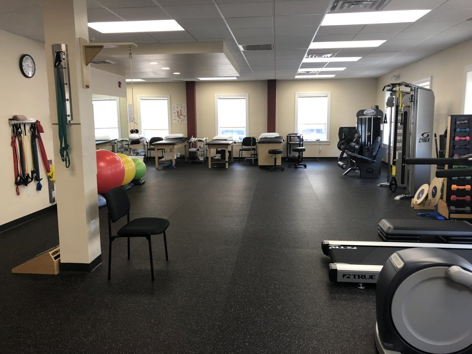 This is an image of the interior of our physical therapy clinic in Westfield New Jersey.