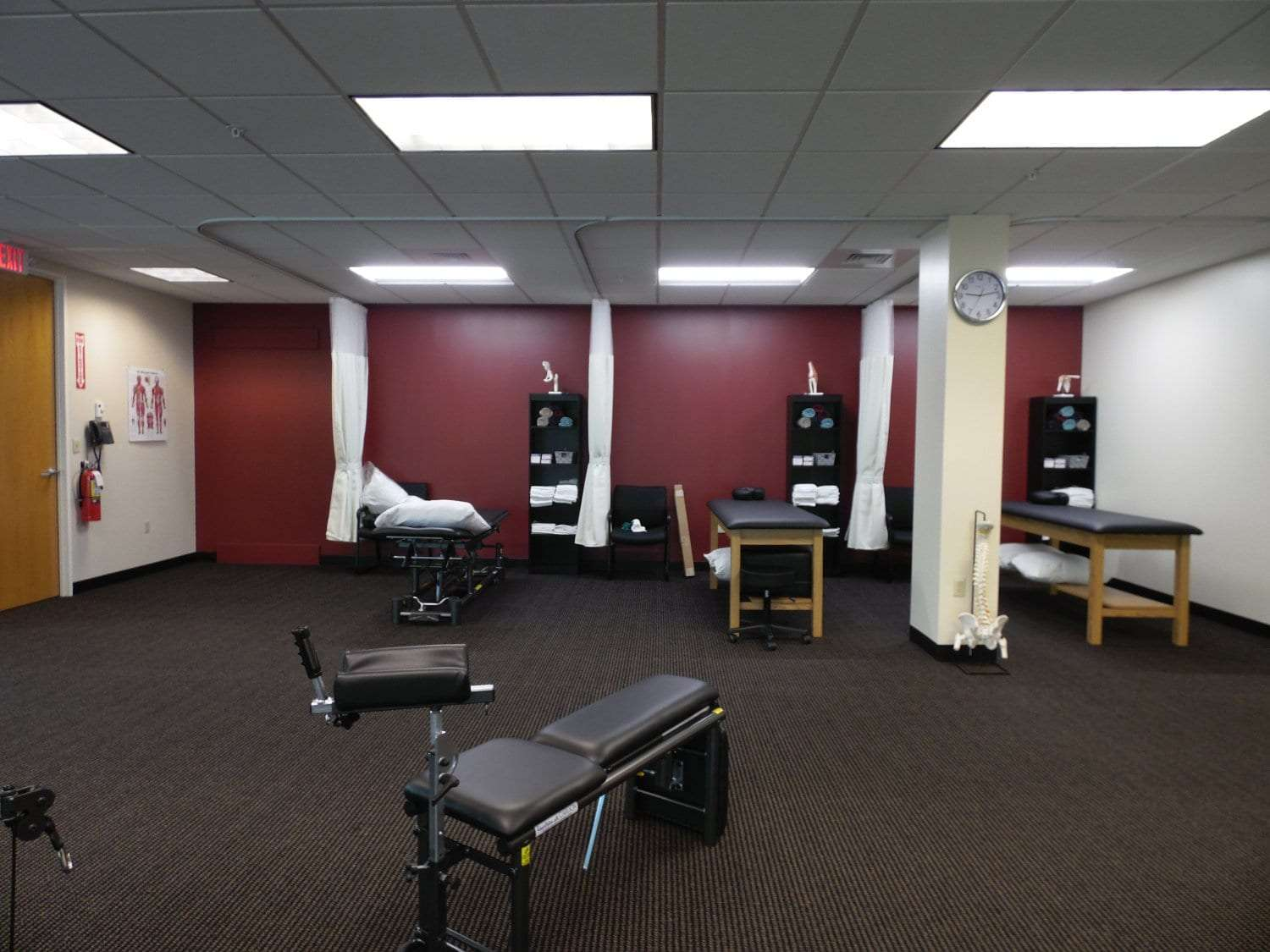 Here is an image of our stretch beds in our physical therapy clinic in Andover, Massachusetts.