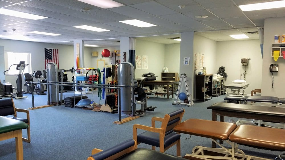 An image of the many pieces of equipment we have for physical therapy at our clinic in Middleboro, Massachusetts.