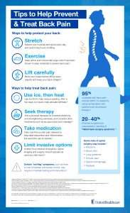 From UHC Tips to help Prevent and treat back pain