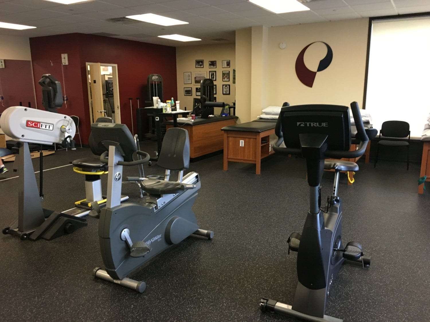 Here is an image of some of the equioment used in physical therapy at our clinic in Mahwah, New Jersey.