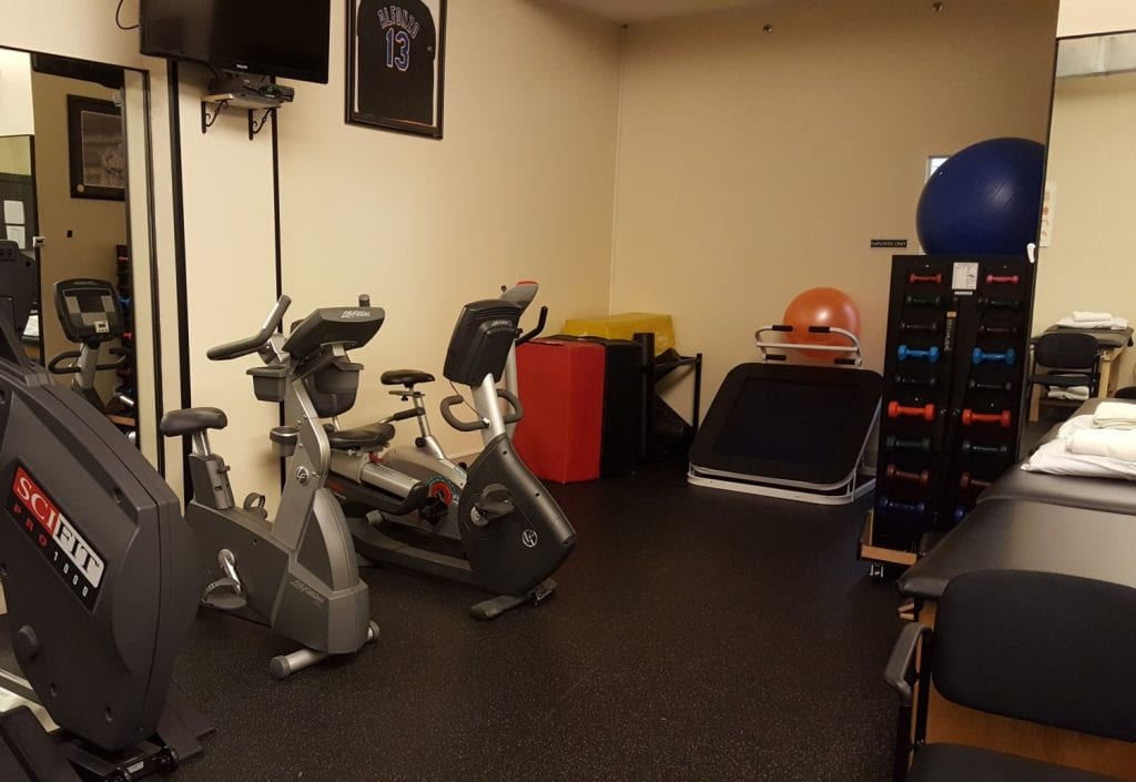This is an image of the equipment used in physical therapy at our clinic in Roslyn, New York.