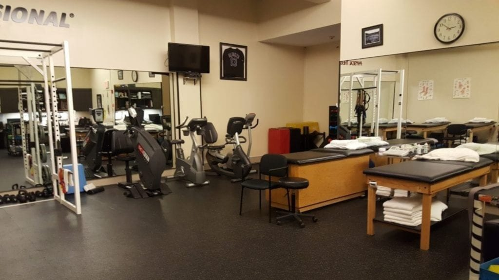 This is a phot of the interior of our physical therapy clinic in Roslyn, New York.