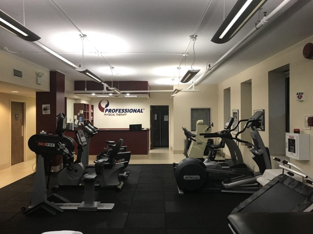 An image of the interior of our physical therapy clinic in Manhattan, New York at Upper East Side on 84th st.