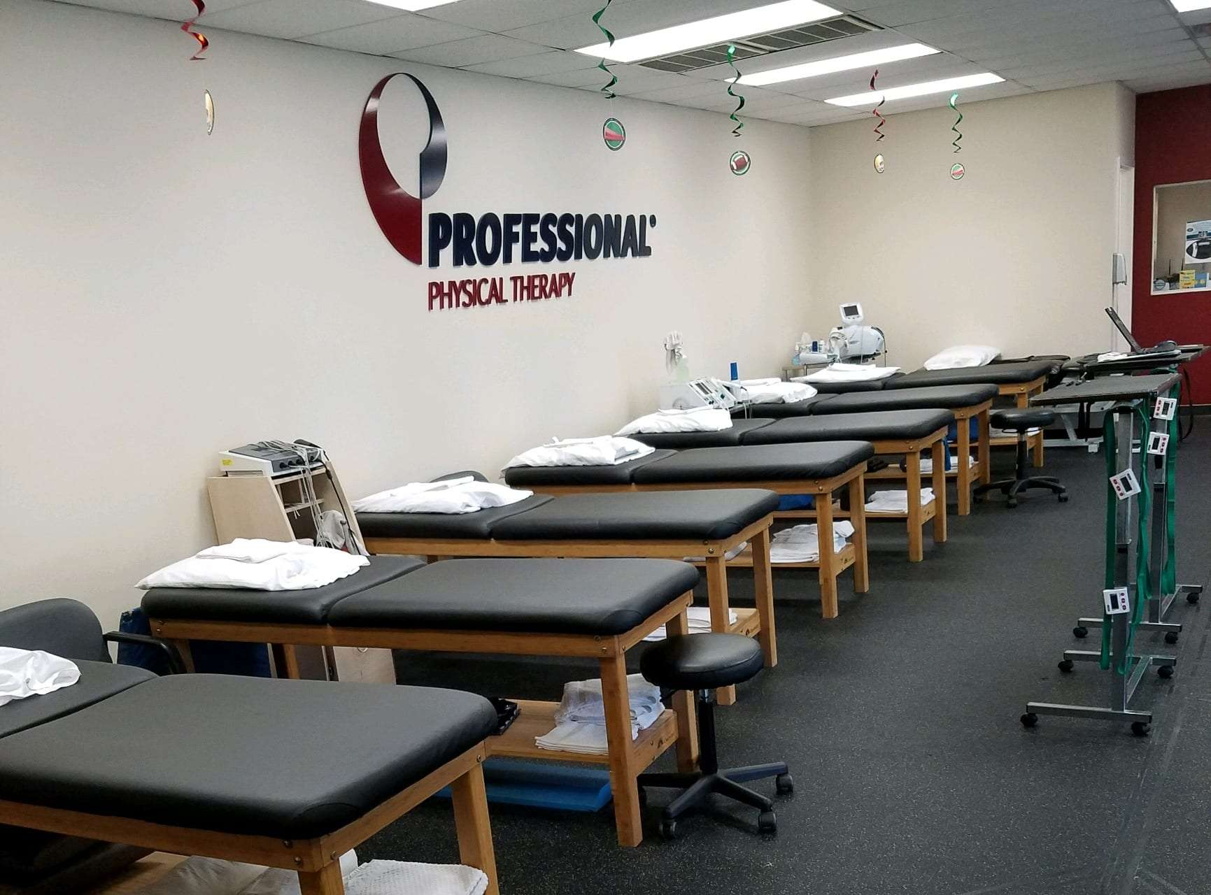 Injury rehab room at our Smithtown, NY physical therapy clinic.