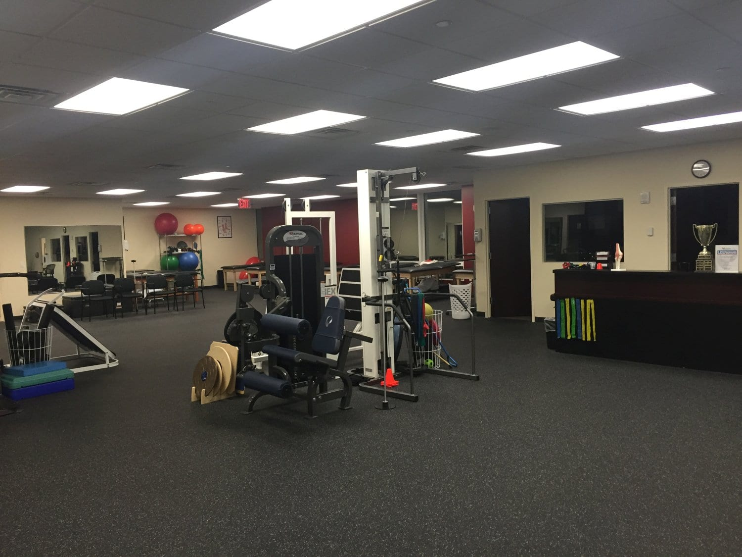 An image of the inside of our physical therapy clinic in Bronx, New York.