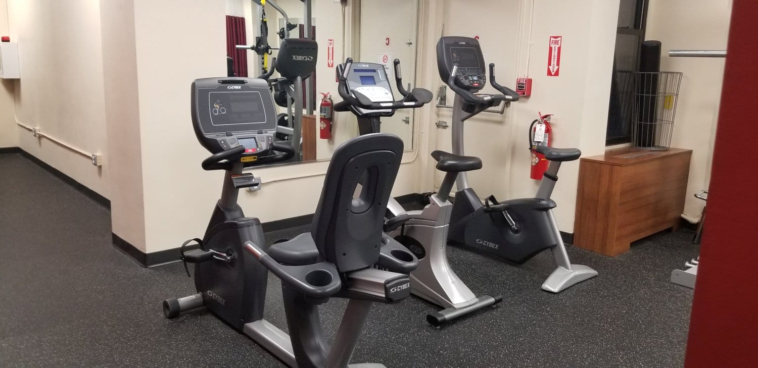 An image of some bike equipment at our physical therapy clinic in Brooklyn Heights, New York.