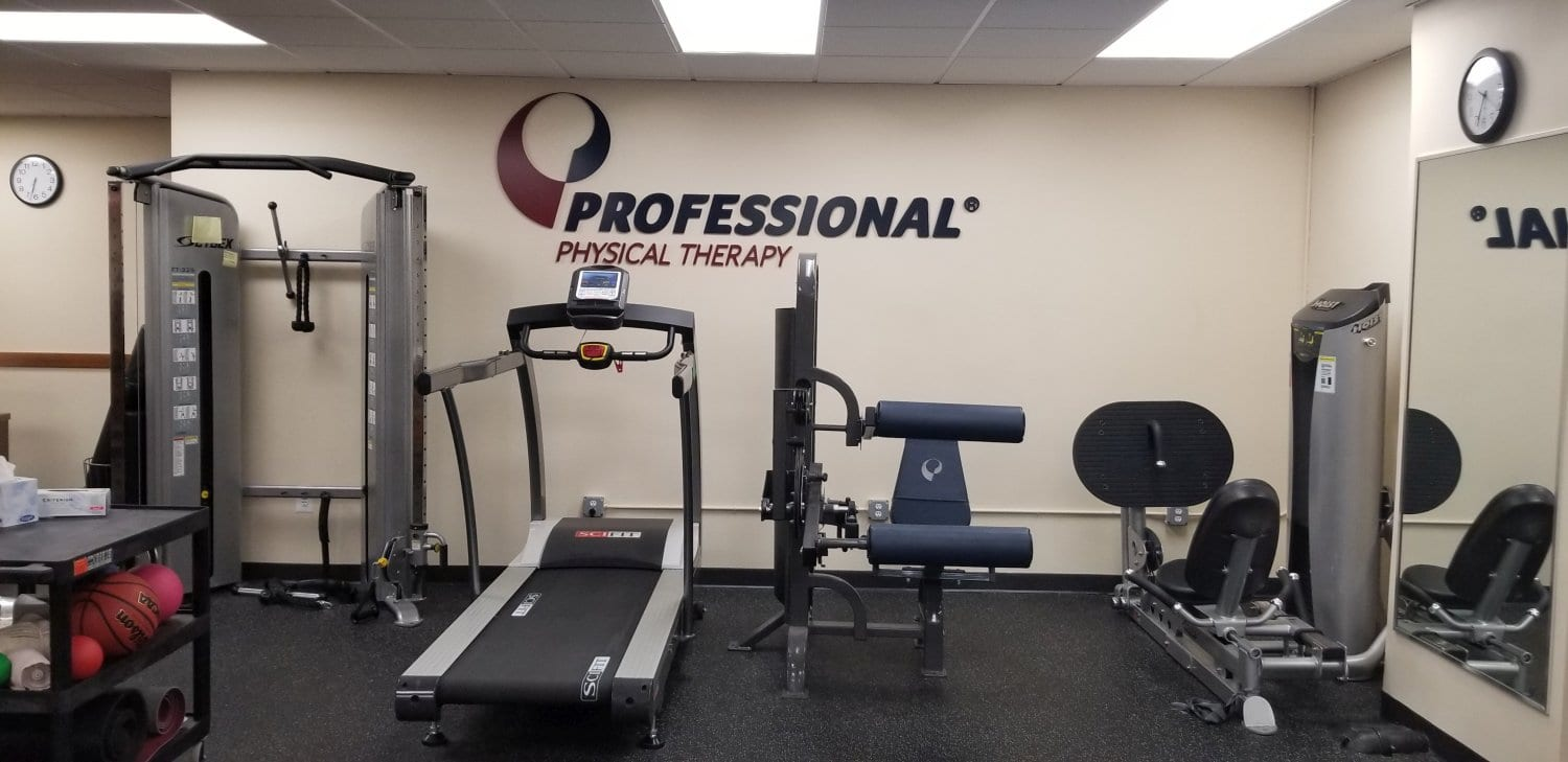 An image of exercize equipment at our physical therapy clinic in Brooklyn Heights, New York.