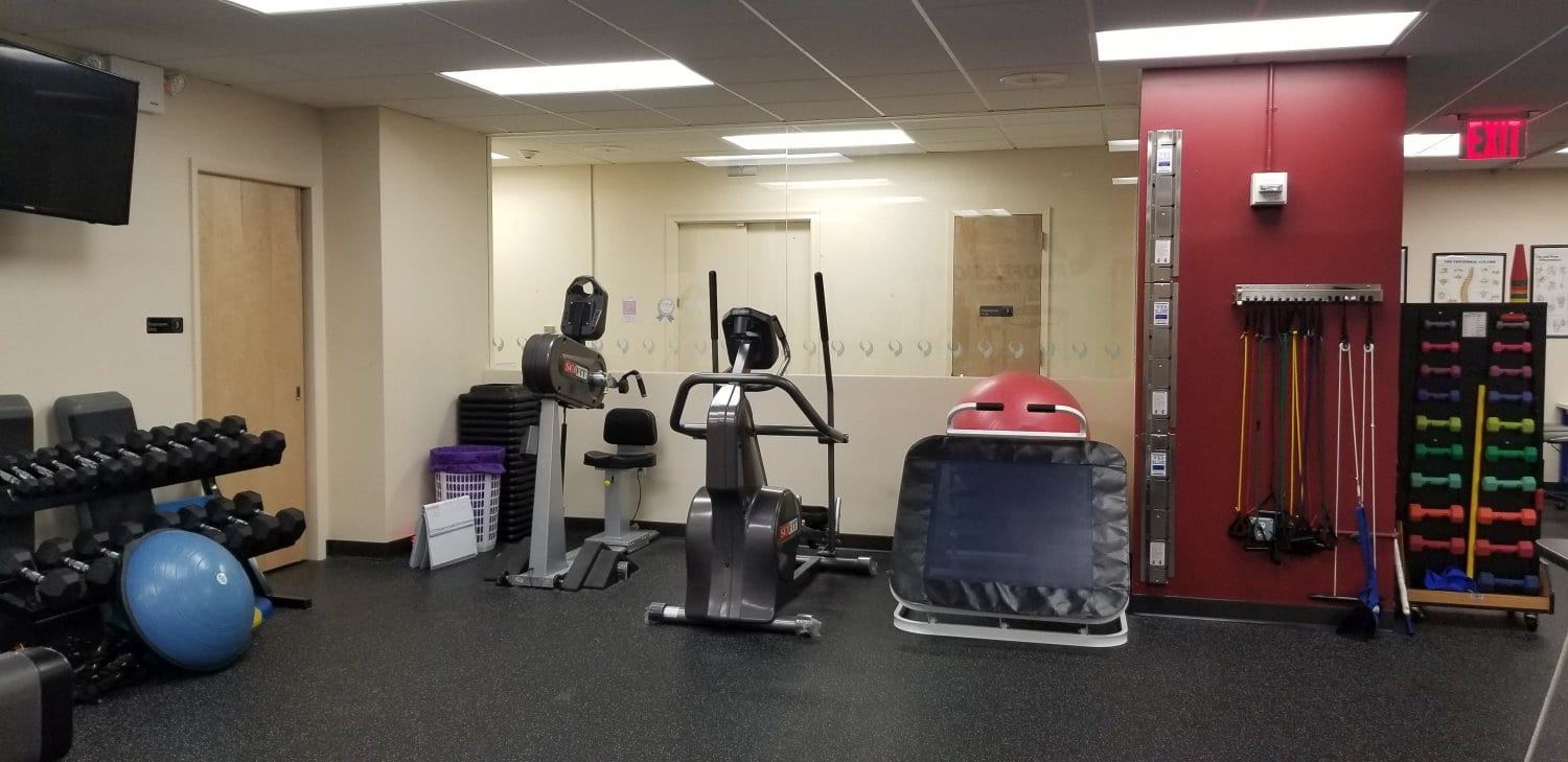 An image of the interior of our physical therapy clinic in Brooklyn Heights, New York.
