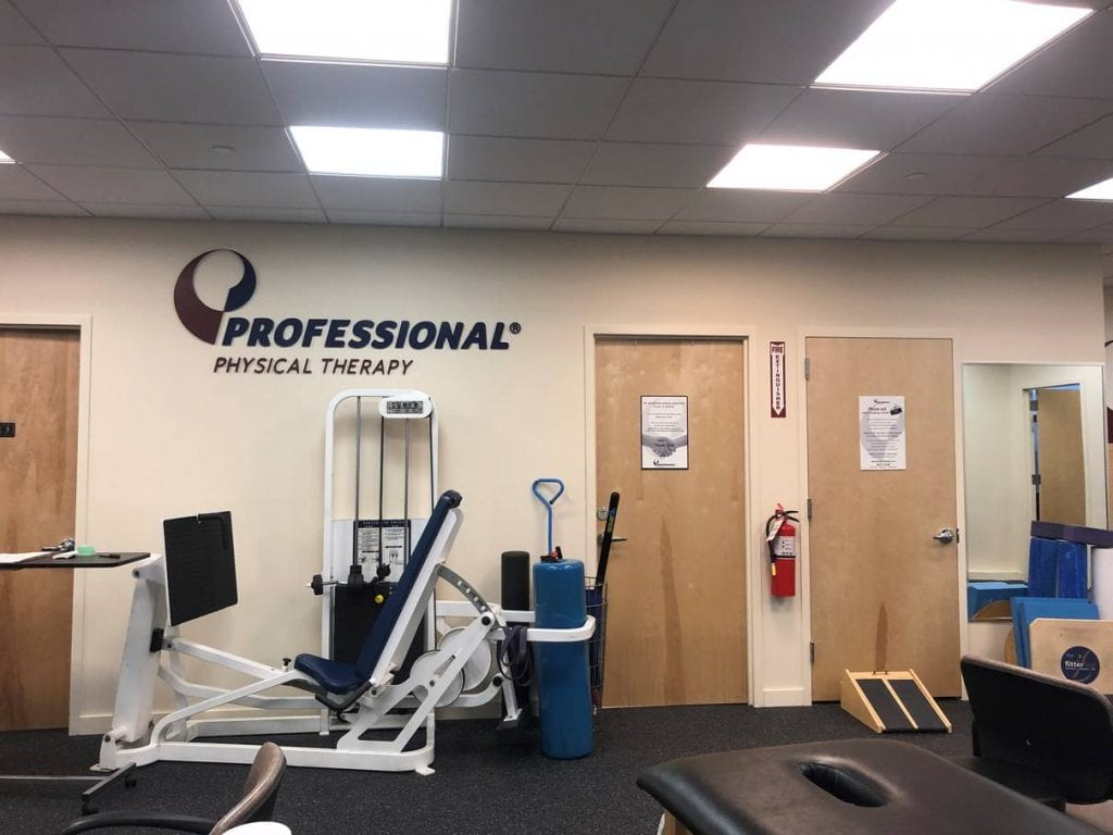 An image of the entrance to our physical therapy clinic in lower Manhattan, NYC at Broadstreet.