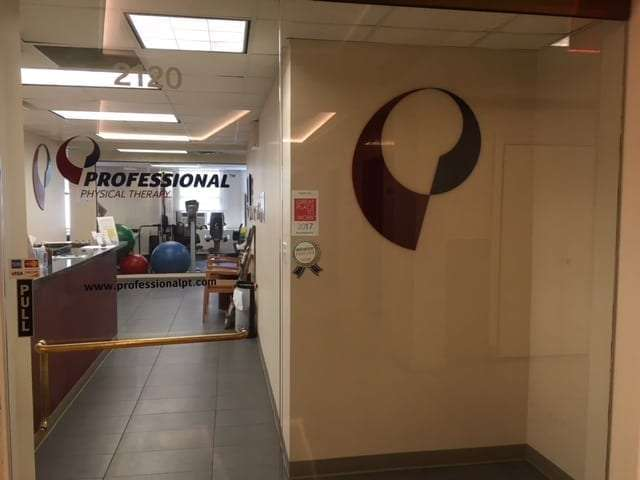 This is an image of the entrance to our physical therapy clinic in lower Manhattan, New York City at City Hall.