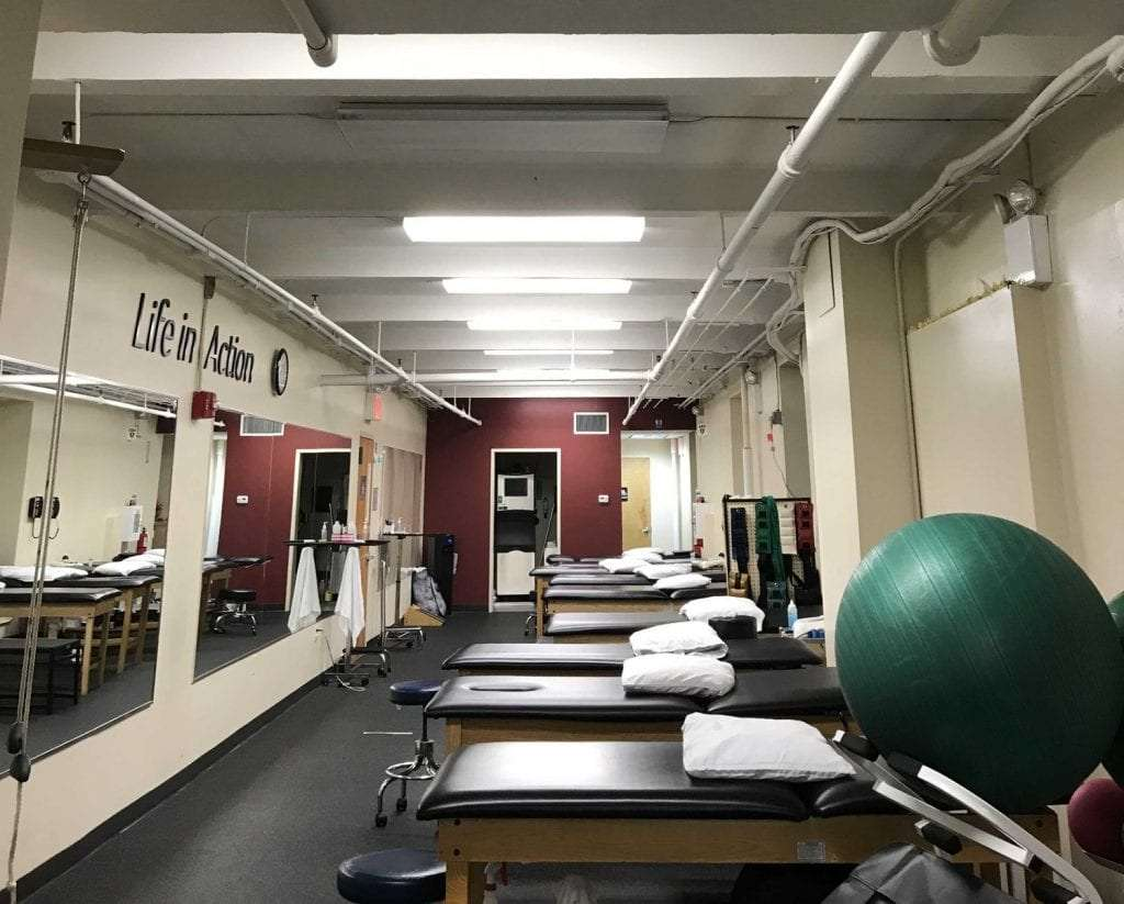 This is an image of the interior of our physical therapy clinic at Union Square in lower Manhattan, New York City.