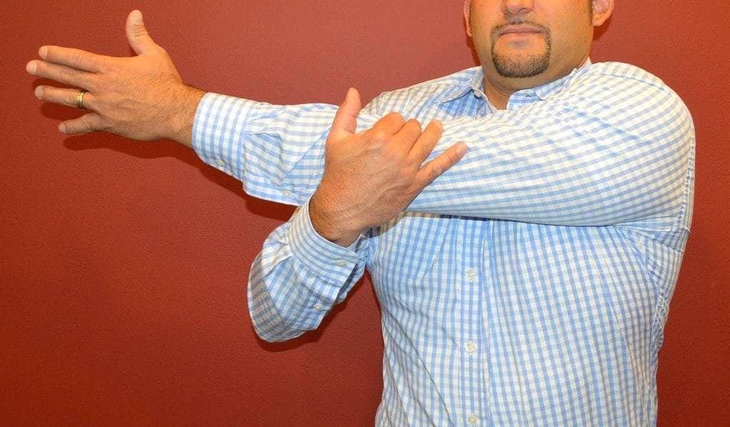 Cross-Shoulder Stretch