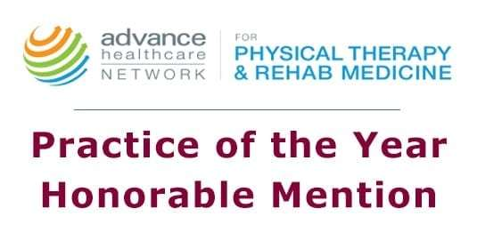 ADVANCE for PT 2014 Practice of the Year Honorable Mention