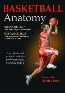 Basketball Anatomy Book Cover